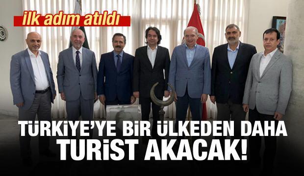 Türkiye'ye bir ülkeden daha turist akacak