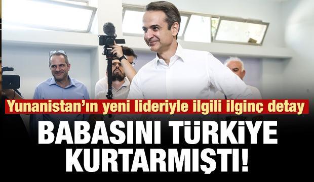 Yunanistan'ın yeni liderinin babasını Türkiye kurtarmıştı!
