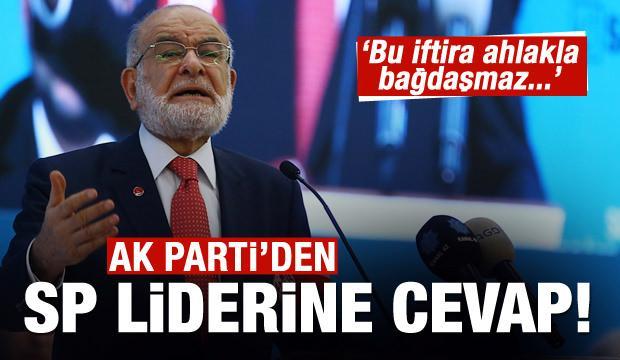 AK Partili Çelik'ten Karamollaoğlu'na tepki