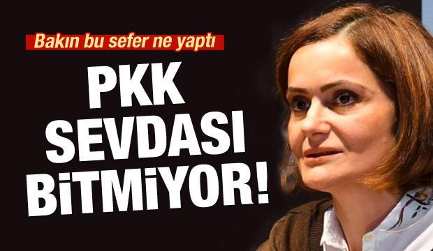 Canan Kaftancıoğlu'ndan PKK propagandasına destek