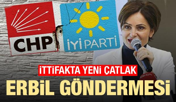 Canan Kaftancıoğlu'nun 'PKK' sözlerine İYİ Parti'den tepki