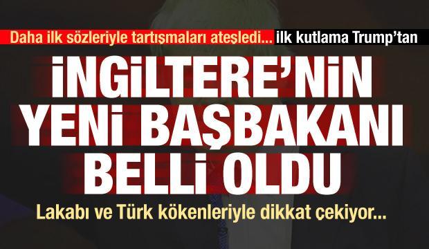 Lakabı ve Türk kökenleri... Ve İngiltere'nin yeni başbakanı belli oldu