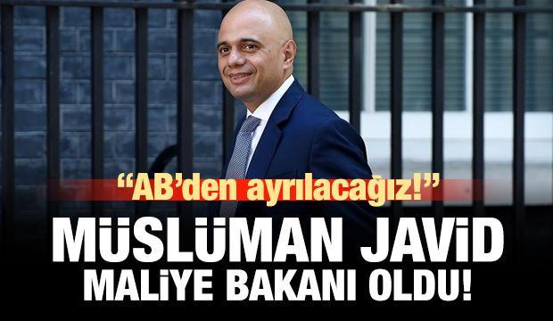 Müslüman Javid Maliye Bakanı oldu: AB'den ayrılacağız!