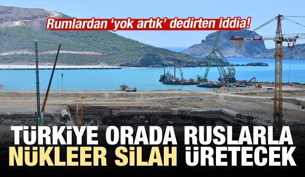Rumlardan akılalmaz iddia: Türkiye Akkuyu'da nükleer silah üretecek!