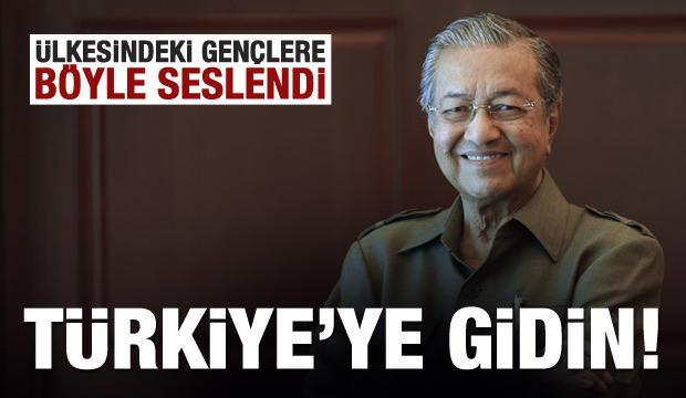Malezya Başbakanı: Türkiye'ye gidin, ülkemize bilgilerle dönün