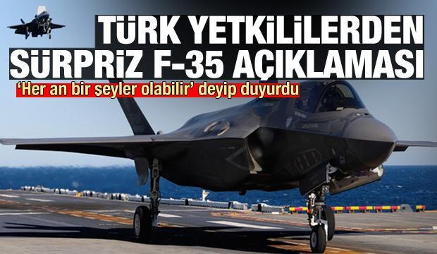 Türk yetkililerden sürpriz F-35 açıklaması: Her an bir şeyler olabilir