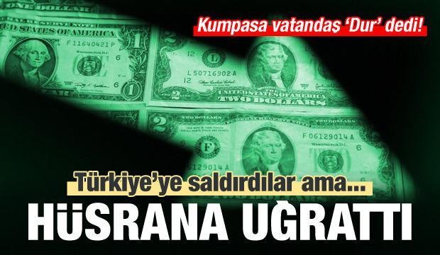Türkiye'ye saldırdılar ama kumpasa halk 'Dur' dedi