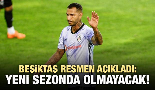 Beşiktaş ayrılığı açıkladı! Quaresma...