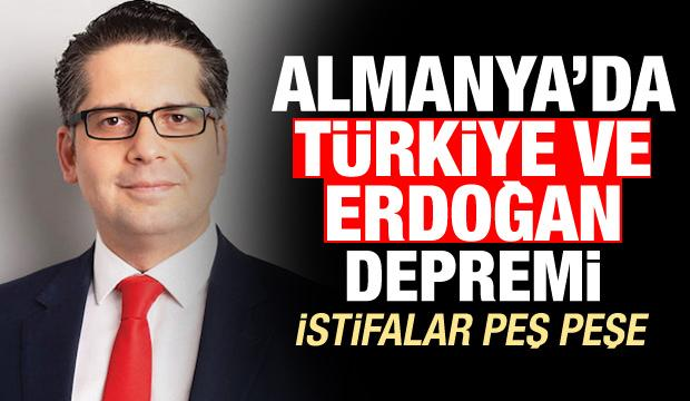 İstifalar peş peşe! Almanya'da Türkiye ve Erdoğan depremi