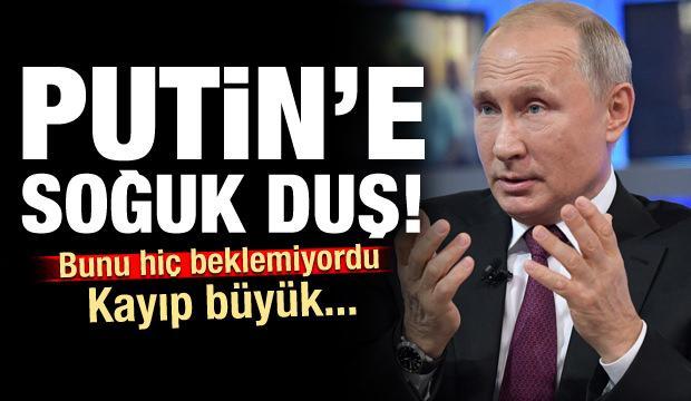 Putin bunu hiç beklemiyordu! Kayıp büyük