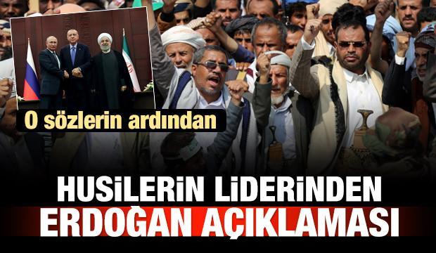 Husilerin liderinden Erdoğan açıklaması