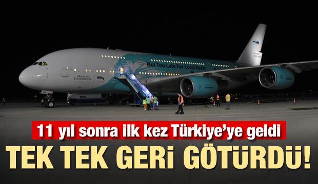 11 yıl sonra ilk kez Türkiye'ye geldi! Tek tek geri götürdü