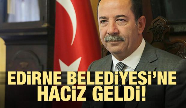 CHP'li Edirne Belediyesi'ne haciz geldi