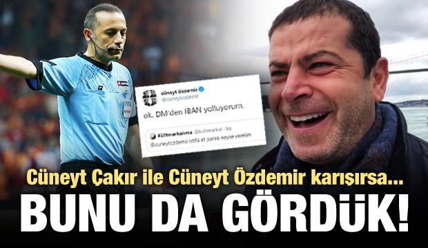 Cüneyt Çakır ile Cüneyt Özdemir karıştırdılar!