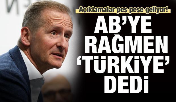 AB'ye rağmen 'Türkiye' dedi, açıklamalar peş peşe geldi