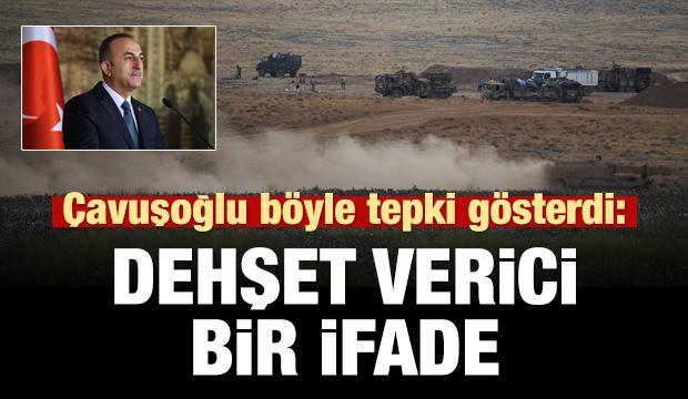 Çavuşoğlu'ndan ABD medyasına: Bu ifade dehşet verici!