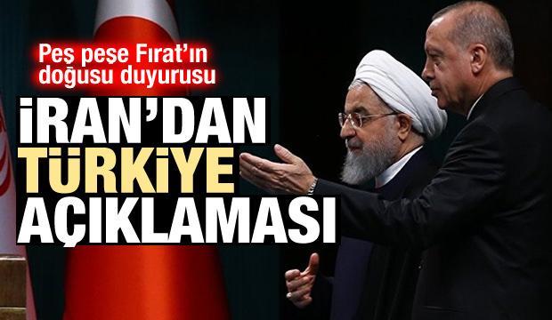 Fırat'ın doğusuna operasyon! İran'dan peş peşe Türkiye açıklamaları