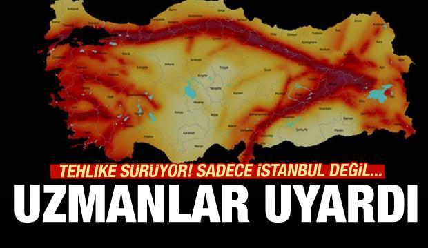 Jeologlardan İstanbul depremi uyarıları!