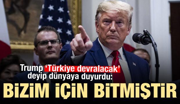 Son dakika Haberi: ABD Başkanı Trump'tan yeni Türkiye açıklaması