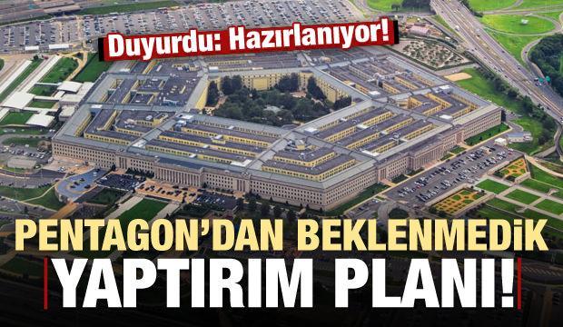 Pentagon'dan beklenmedik yaptırım hamlesi!