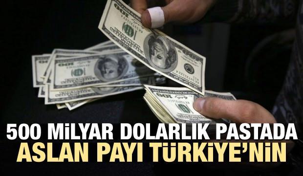 500 milyar dolarlık pastada aslan payı Türkiye'nin