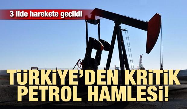 Türkiye'den kritik petrol hamlesi! 3 ilde harekete geçildi