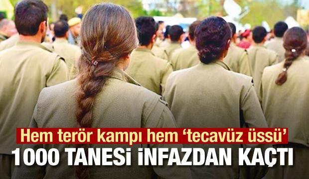 Bin kadın terörist PKK'nın tecavüz ve infaz üssünden kaçtı!