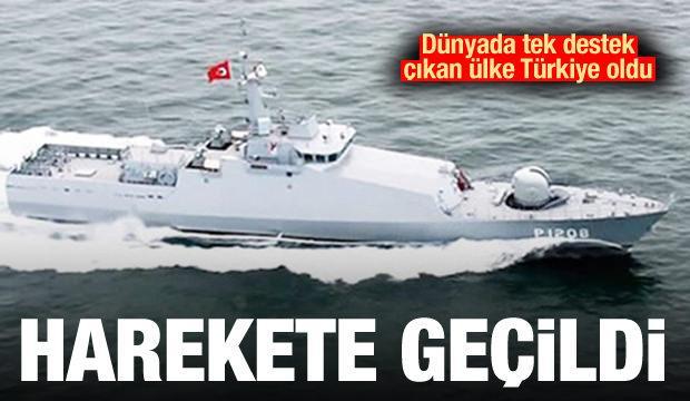 Dünyada tek destek çıkan ülke Türkiye oldu! Harekete geçildi