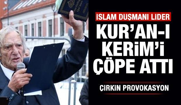 Kur'an-ı Kerim üzerinden çirkin provokasyon!