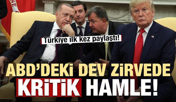 Türkiye ilk kez paylaştı! Dev zirvede kritik hamle
