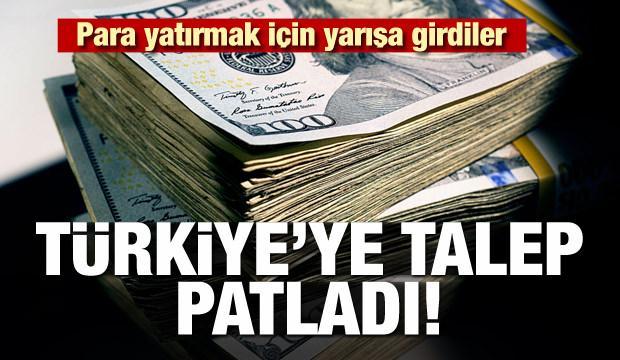 Türkiye'ye talep patladı! Para yatırmak için yarışa girdiler