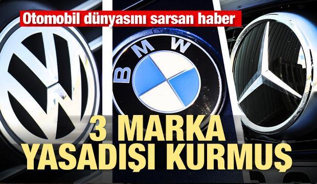 Otomobil dünyasını sarsan haber! BMW, Mercedes ve Volkswagen yasadışı kurmuş
