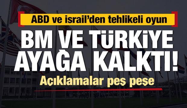 ABD ve İsrail'den tehlikeli oyun! Türkiye ayağa kalktı