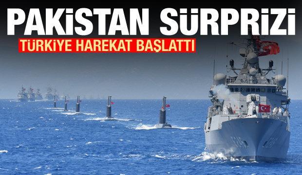 Türkiye harekat başlattı! Pakistan sürprizi
