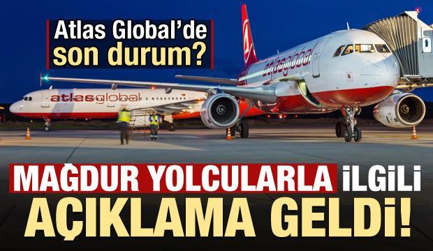 Bakan'dan mağdur yolcularla ilgili Atlas Global Havayolları açıklaması