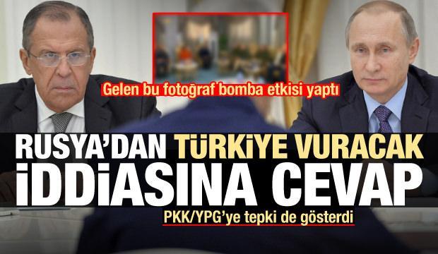 Rusya'dan PKK/YPG'ye tepki, 'Türkiye vuracak' iddiasına cevap