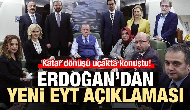 Sondakika: Cumhurbaşkanı Erdoğan'dan yeni EYT açıklaması!