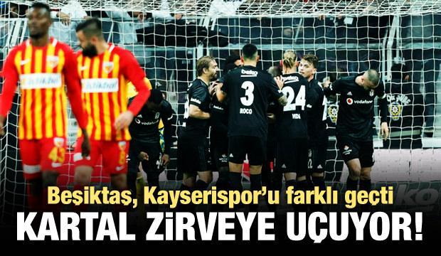 Beşiktaş, Kayserispor'u farklı geçti!