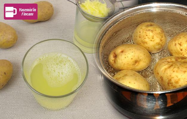 Sabah aç karna patates suyu içerseniz...