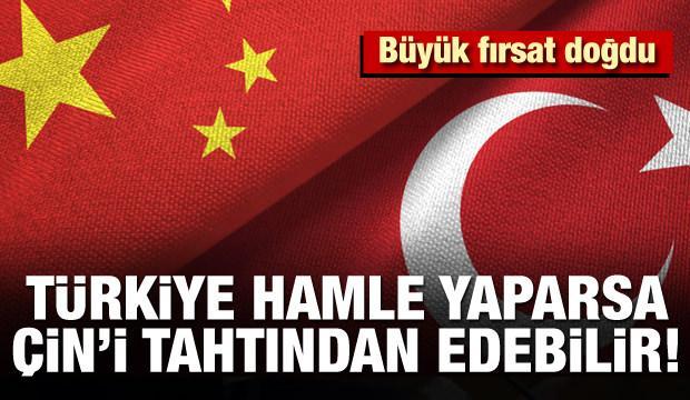 Türkiye hamle yaparsa Çin'i tahtından edebilir! Büyük fırsat doğdu
