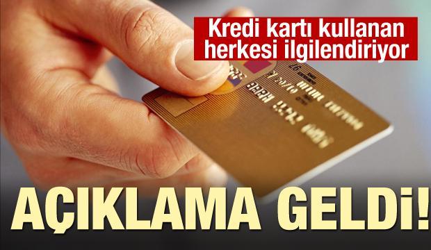 Kredi kartındaki para puanlar silinecek mi? Açıklama geldi