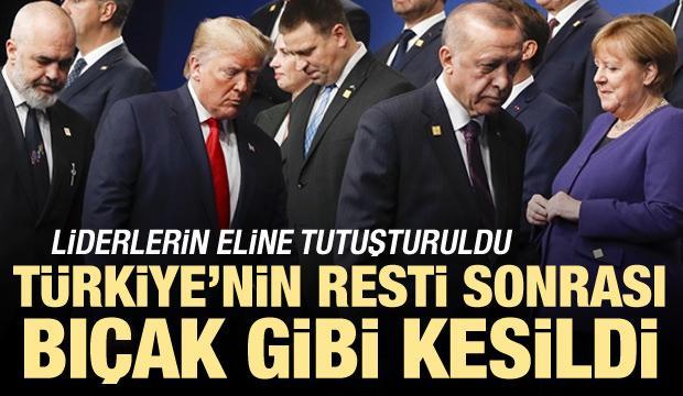 Türkiye'nin resti sonrası bıçak gibi kesildi! Ellerine tutuşturuldu