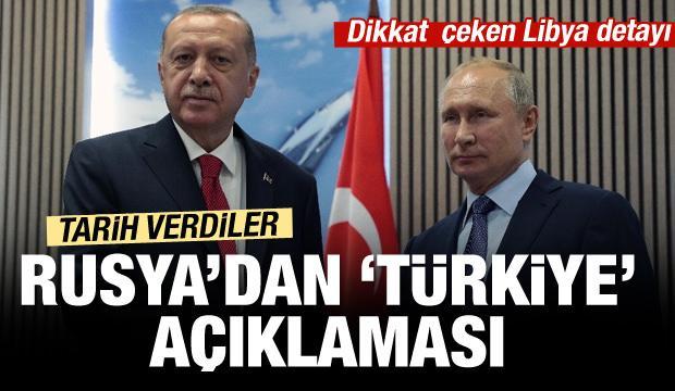 Kremlin'den son dakika Türkiye açıklaması