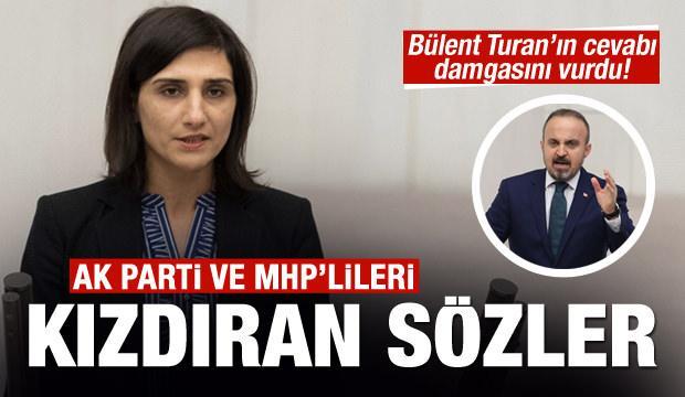 TBMM'de tartışma! HDP'lilerden AK Parti ve MHP'lileri ayaklandıran sözler