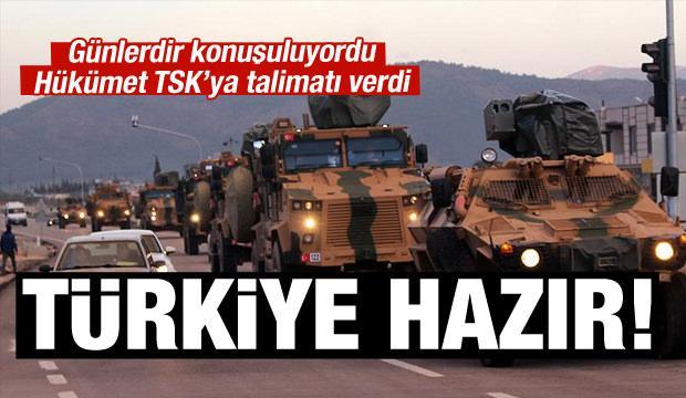 Türkiye hazırlıklara başladı!