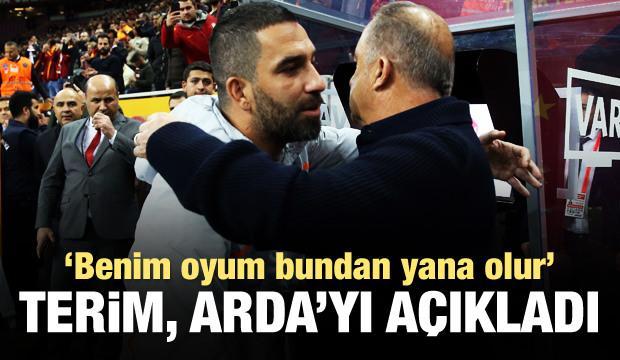 Fatih Terim'den son dakika Arda Turan açıklaması!