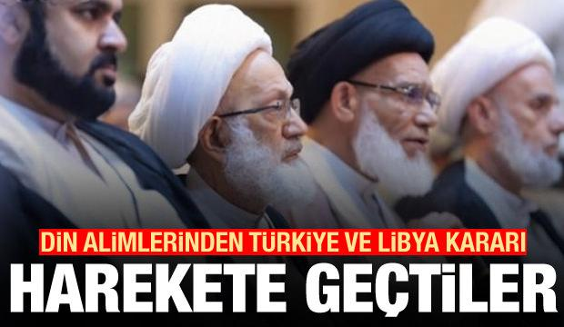 Din alimlerinden bomba Türkiye ve Libya kararı! Harekete geçtiler