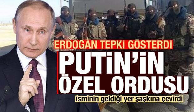 Erdoğan tepki gösterdi: Putin'in Özel Ordusu! İsminin geldiği yer şoke etti