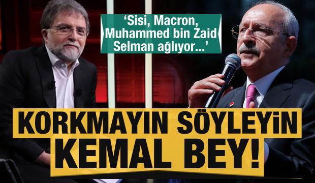 Ahmet Hakan'dan Kılıçdaroğlu'na: Korkmayın söyleyin!