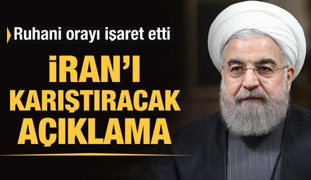 Ruhani'den İran'ı karıştıracak açıklama